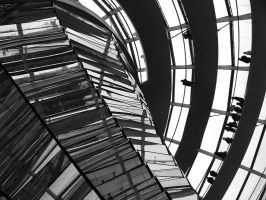 Reichstag Dome by kanes