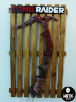 Tomb Raider Ice axe by Mattos-Box