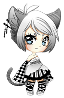 Quick Chibi Theia by XAngelFeatherX