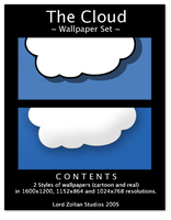 The cloud wallpaper set by LordZoltan