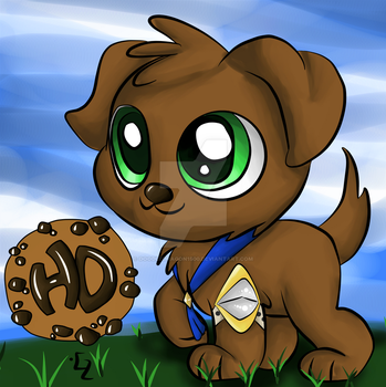 Happy Days Fanart! Puppy by doodledragon1500