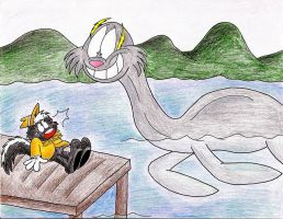The LochNeil Monster by IrishBecky