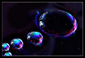 Guiding way to outerspace by Sortvind