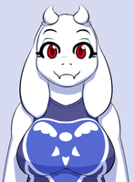 Toriel by Soap9000