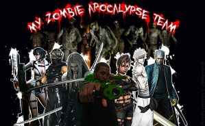 My Zombie Apocalypse Team by Ryan-Hervey