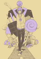 KnB: Sweet Tooth by d-aiki