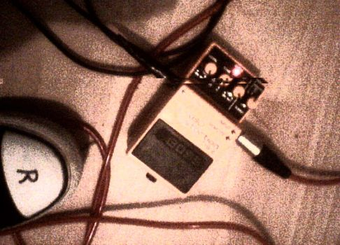Grunge Distortion Pedal by cobain1337