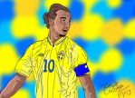 ibrahimovic by darkparade
