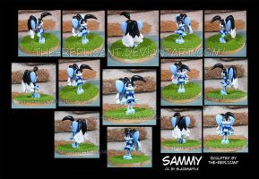 Sammy figure - Commission by The-Replicant