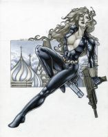 The Black Widow by RichardCox