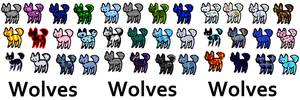 Wolf Adopts by xxBrandy