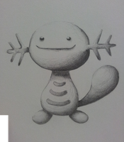 Wooper by Valodeon