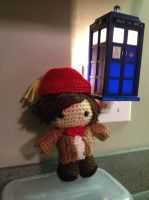 Eleventh Doctor (amigurumi) by Metaphoricalcake