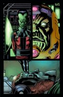 Marvel Hulk Sample page1 by SpicerColor