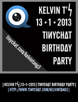 Tinychat Birthday Party (with timeline cover) by KelvinTang