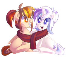 Comm: Scarf Sisters by Left2Fail