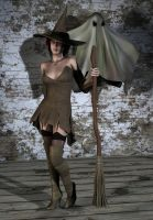 Witch costume by hookywooky