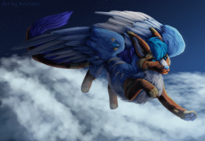 Touch the Clouds by Xeshaire