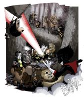 Ewoks vs X-Babies by caanantheartboy