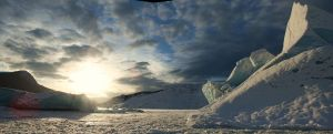 Ice Berg by wolfnipplechips