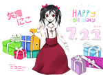 Happy Birthday NICO~ by Crissbycriss001