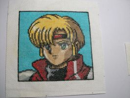 Chaz cross-stitch PSIV by cainslove