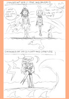 Stranded At Sea 2 and 3 by DimentionQueen