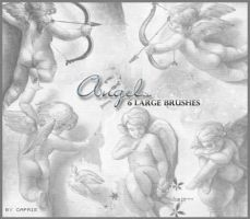Angel Brushes by Chouke
