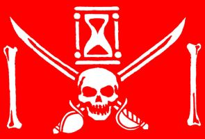JBR Jolly Roger red version by James-B-Roger
