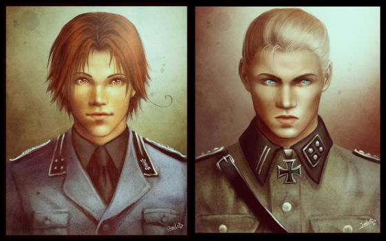 Real Feliciano and Ludwig by Rivan145th