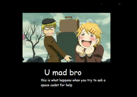 u mad bro by nibbl3y