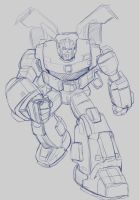 Bulkhead Animated G1 by bokuman