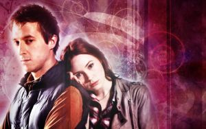 Doctor Who Amy and Rory by Casteal