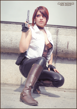 Claire Redfield own version by VickyxRedfield