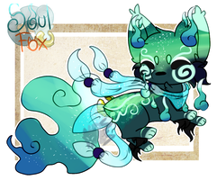 (Closed) NorthernLights SoulFox Auction Adoptable! by SetSaiI