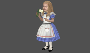 Alice Tenniel mesh mod by Lopieloo