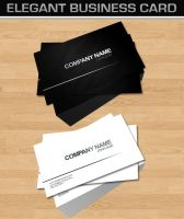 Elegant Business Card by dimplegal