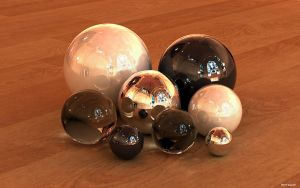 Just some spheres by kuzy62