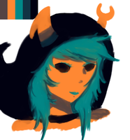 Color Pallet Vriska by RayvieCat