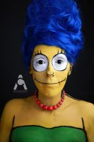 Marge Simpson by Prettyscary
