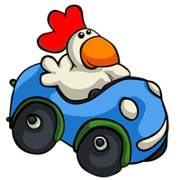 Chicken revisited by chickenmobile