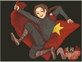 HETALIA AXIS POWERS - CHINA by Vvires