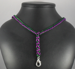 Purple and Green Lanyard by Tarliman