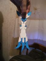 Icy Paper Child by larkawolf2009
