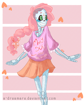 Mary sue never looked this good by A-Dreamare