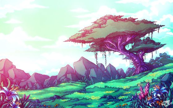 Green Desert by Astral-Requin