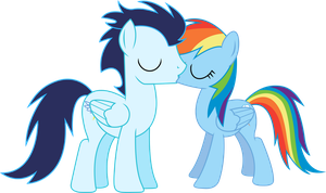 Soarin'Dash Kiss by RainbowDerp98