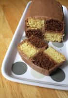 Chocolate Battenburg by claremanson