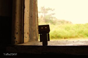 Danbo Exploring ........... by Yuffie1972