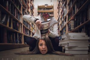 Studying for Finals by aramphoto